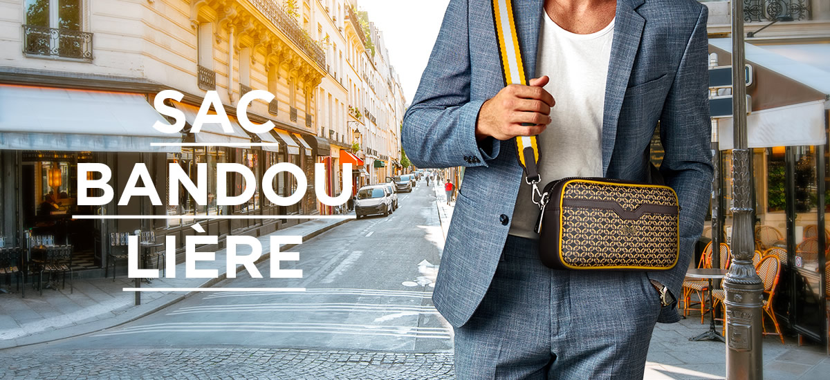Sac Bandoulière Homme Luxe