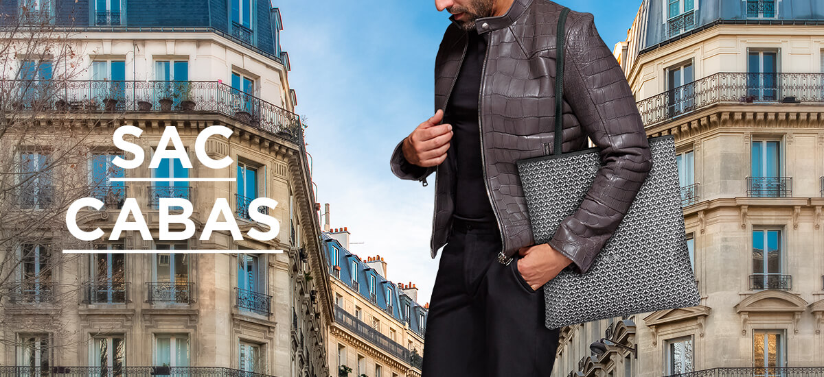 Sac Cabas Homme Luxe