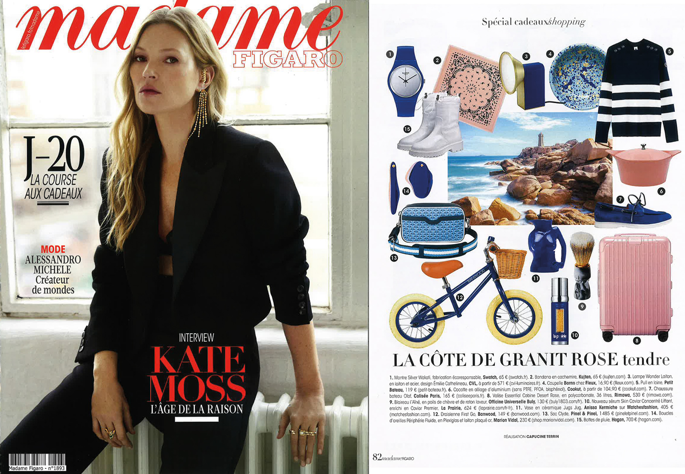 PINEL et PINEL in Madame Figaro - 2020/12