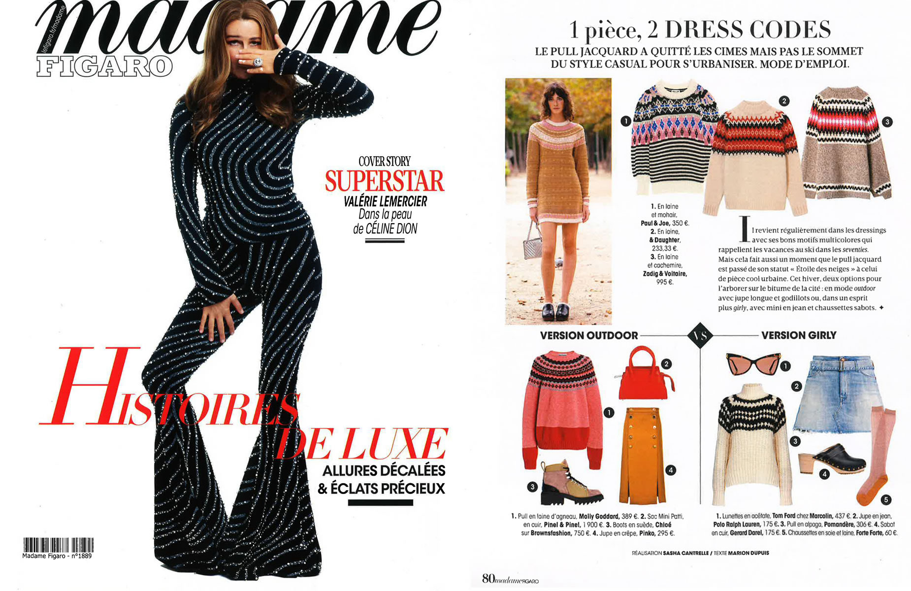 PINEL et PINEL in Madame Figaro - 2020/11